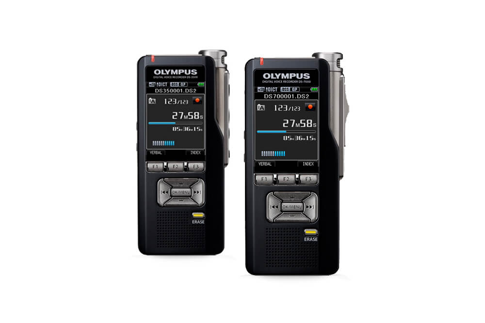 Olympus Launches The Ds 7000 And Ds 3500 Voice Recorders